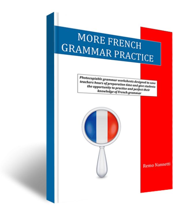 MORE FRENCH GRAMMAR PRACTICE LETTER SIZE