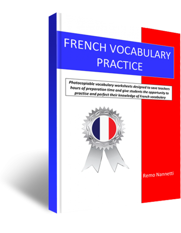 FRENCH VOCABULARY PRACTICE A4